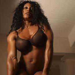 Kathy Johansson ist eine super geile Bodybuilderin