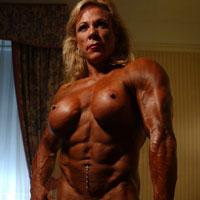 Lauren Powers, muskeln pur